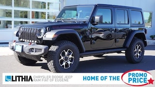 New 2021 Jeep Wrangler UNLIMITED RUBICON 4X4 Sport Utility Eugene, OR
