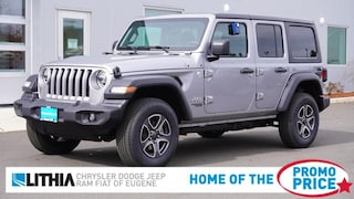 New 2021 Jeep Wrangler UNLIMITED SPORT S 4X4 Sport Utility Eugene, OR