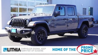 New 2021 Jeep Gladiator WILLYS 4X4 Crew Cab Eugene, OR