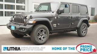 New 2020 Jeep Wrangler UNLIMITED SPORT S 4X4 Sport Utility Eugene, OR