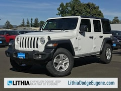 2018 Jeep Wrangler UNLIMITED SPORT S 4X4 Sport Utility Eugene, OR