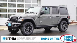 New 2021 Jeep Wrangler UNLIMITED WILLYS 4X4 Sport Utility Eugene, OR