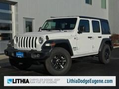 2018 Jeep Wrangler UNLIMITED SPORT 4X4 Sport Utility Eugene, OR
