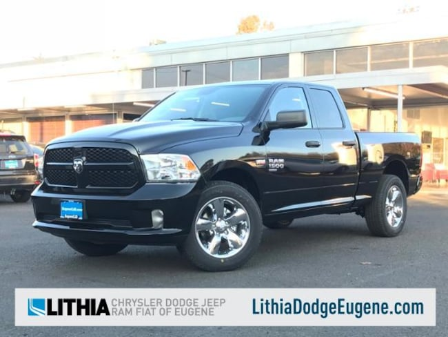 New 2019 Ram 1500 TRADESMAN QUAD CAB 4X4 Quad Cab Eugene, OR