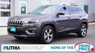Certified Pre-Owned 2020 Jeep Cherokee Limited SUV Eugene, OR