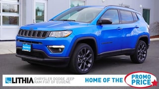 New 2021 Jeep Compass 80TH ANNIVERSARY 4X4 Sport Utility Eugene, OR
