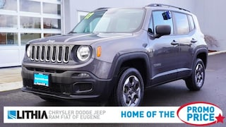 Certified Pre-Owned 2017 Jeep Renegade Sport 4x4 SUV Eugene, OR