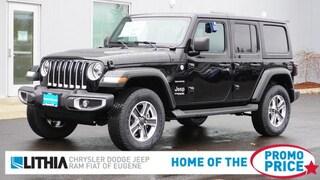 New 2021 Jeep Wrangler UNLIMITED SAHARA 4X4 Sport Utility Eugene, OR
