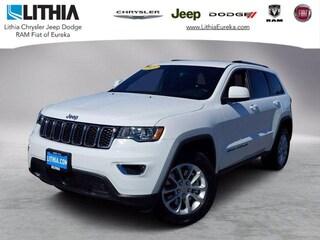 New 2021 Jeep Grand Cherokee LAREDO E 4X4 Sport Utility Eureka, CA