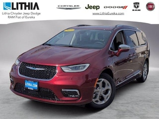 New 2021 Chrysler Pacifica Hybrid LIMITED Passenger Van Eureka, CA
