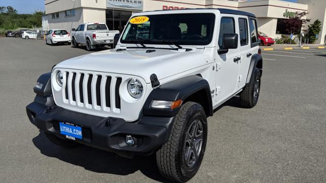 New 2018 Jeep Wrangler UNLIMITED SPORT S 4X4 Sport Utility Eureka, CA