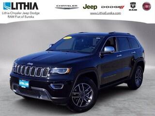 New 2021 Jeep Grand Cherokee LIMITED 4X4 Sport Utility Eureka, CA