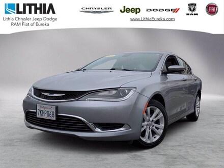Used 2015 Chrysler 200 Limited Sedan Eureka, CA