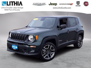 New 2021 Jeep Renegade JEEPSTER 4X4 Sport Utility Eureka, CA