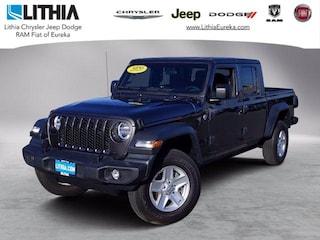 New 2020 Jeep Gladiator SPORT S 4X4 Crew Cab Eureka, CA