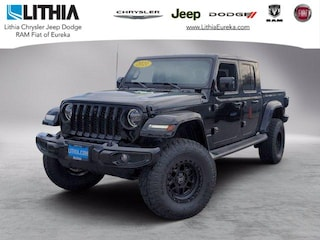 New 2021 Jeep Gladiator HIGH ALTITUDE 4X4 Crew Cab Eureka, CA