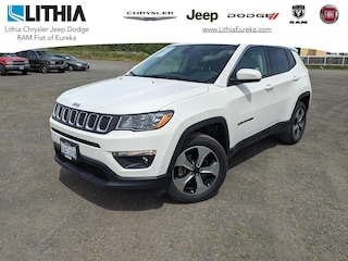 Certified Pre-Owned  2018 Jeep Compass Latitude 4x4 SUV Eureka, CA