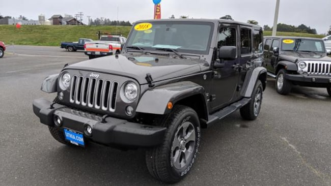 New 2018 Jeep Wrangler Unlimited WRANGLER JK UNLIMITED SAHARA 4X4 Sport Utility Eureka, CA