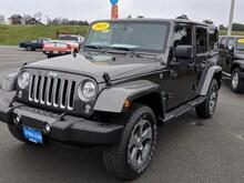 2018 Jeep Wrangler Unlimited WRANGLER JK UNLIMITED SAHARA 4X4 Sport Utility