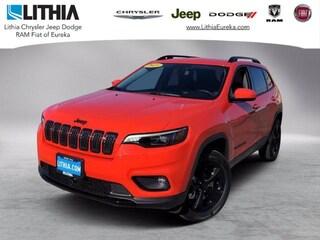 New 2021 Jeep Cherokee ALTITUDE 4X4 Sport Utility Eureka, CA