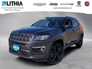 New 2021 Jeep Compass ALTITUDE 4X4 Sport Utility Eureka, CA