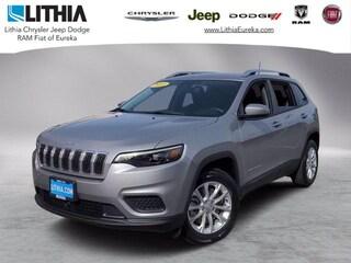 New 2021 Jeep Cherokee LATITUDE FWD Sport Utility Eureka, CA