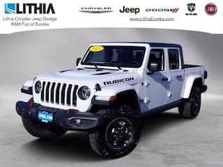 New 2021 Jeep Gladiator RUBICON 4X4 Crew Cab Eureka, CA