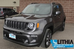 New 2021 Jeep Renegade 80TH ANNIVERSARY 4X4 Sport Utility For sale in Missoula, MT