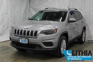 New 2021 Jeep Cherokee LATITUDE 4X4 Sport Utility Missoula, MT