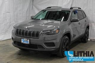 New 2021 Jeep Cherokee FREEDOM 4X4 Sport Utility Missoula, MT