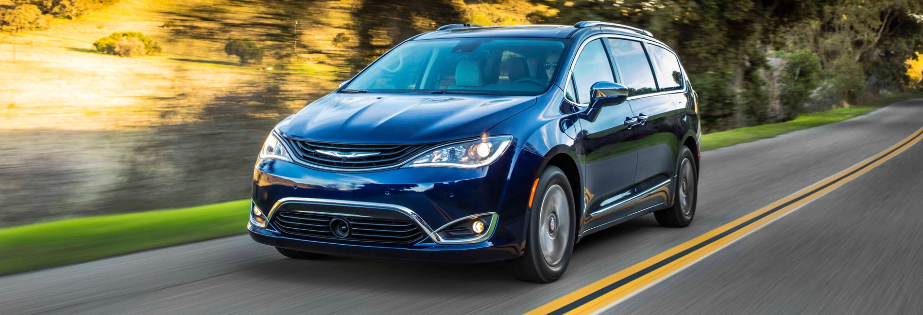 Chrysler Pacifica Exterior Vehicle Features