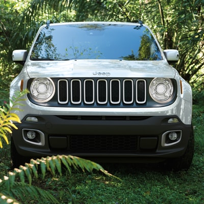 Jeep Renegade Interior and Exterior Vehicle Features