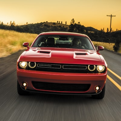 Dodge Challenger Interior and Exterior Vehicle Features