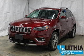 Certified Pre-Owned 2019 Jeep Cherokee Overland 4x4 SUV Missoula, MT