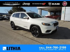 New 2019 Jeep Cherokee ALTITUDE FWD Sport Utility For sale in Bryan, TX