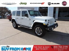 2021 Jeep Wrangler UNLIMITED SAHARA 4X4 Sport Utility Bryan, TX