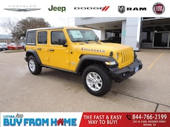 New 2021 Jeep Wrangler UNLIMITED ISLANDER 4X4 Sport Utility Bryan, TX