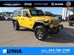 New 2019 Jeep Wrangler UNLIMITED RUBICON 4X4 Sport Utility Bryan, TX