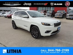 New 2019 Jeep Cherokee HIGH ALTITUDE FWD Sport Utility For sale in Bryan, TX