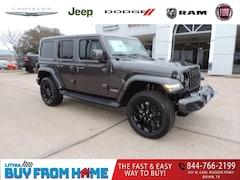 New 2021 Jeep Wrangler UNLIMITED HIGH ALTITUDE 4X4 Sport Utility Bryan, TX