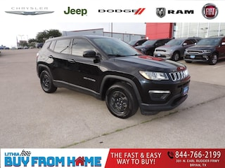 Certified Pre-Owned 2018 Jeep Compass Sport FWD SUV Bryan, TX