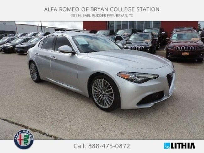 Certified Pre-Owned 2017 Alfa Romeo Giulia Ti Sedan Bryan, TX