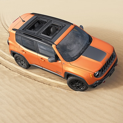 Jeep Renegade Interior Infotainment Features