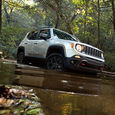 Jeep Renegade Versatility Features