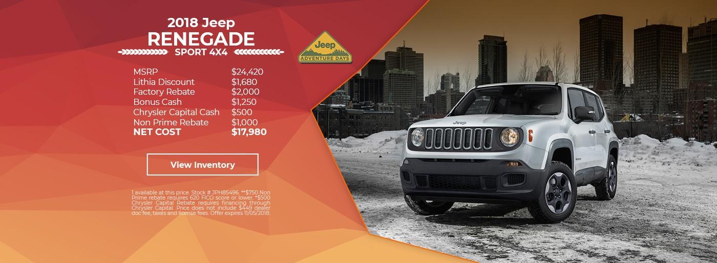 lithia chrysler jeep of reno new used car dealership parts service financing. Black Bedroom Furniture Sets. Home Design Ideas