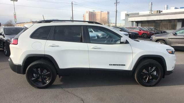New 2019 Jeep Cherokee ALUDE 4X4 Sport Utility Pearl White ... Jeep Xj Driver Door Wiring Harness on jeep transmission wiring harness, jeep engine wiring harness, jeep starter wiring harness,