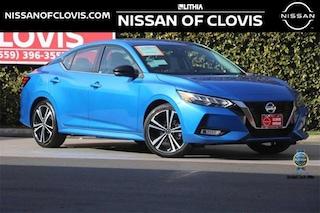 New 2021 Nissan Sentra SR Sedan Clovis, CA