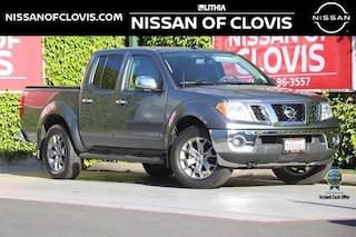 New 2019 Nissan Frontier SL Truck Crew Cab Clovis, CA