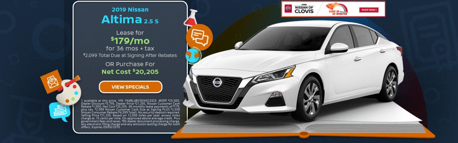 Lithia Nissan Of Fresno >> New & Used Nissan Dealership in Clovis | Nissan of Clovis ...