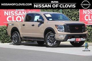 New and Used Trucks 2021 Nissan Titan PRO-4X Truck Crew Cab for sale near Fresno, CA